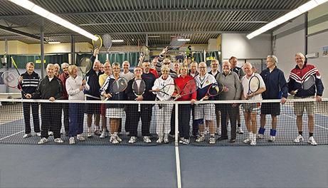 SENIOR TENNIS..... @ Tennishallen i Sivik